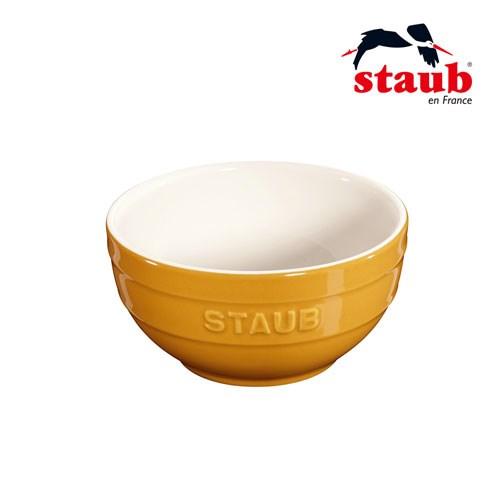 法國Staub 陶瓷碗 12cm-芥末黃