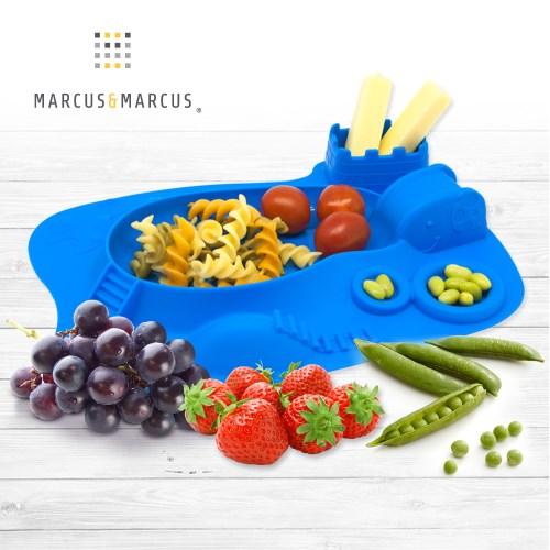 【MARCUS&MARCUS】動物樂園遊樂造型餐盤-多款任選