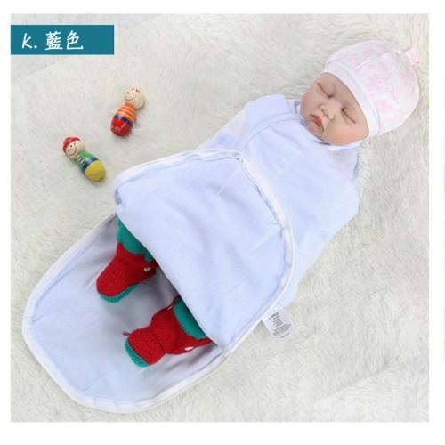 【AI NI BABY】拉鍊式新生兒純棉包巾嬰兒睡袋新生兒襁褓(多款花色)