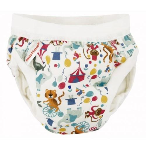 瑞典ImseVimse-有機棉幼兒如廁訓練褲(馬戲團)