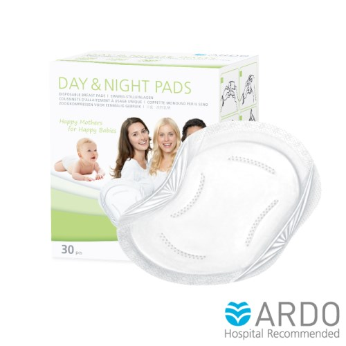 【ARDO安朵】瑞士日夜兩用拋棄式防溢乳墊30片/盒