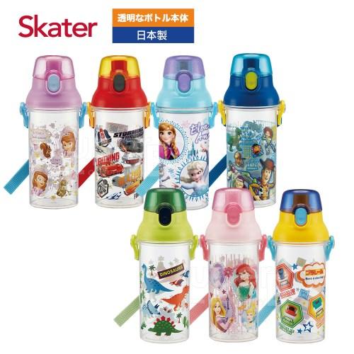 Skater直飲透明水壺 (480ml)