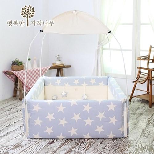 【 Babytiger虎兒寶 】The zazak 韓國手工製嬰幼兒遊戲床 星星