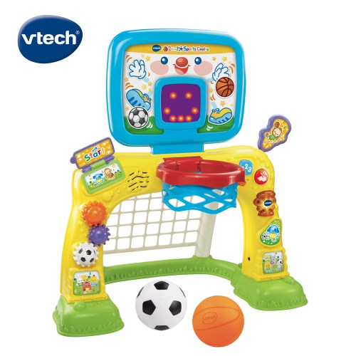【Vtech】多功能互動感應運動球場