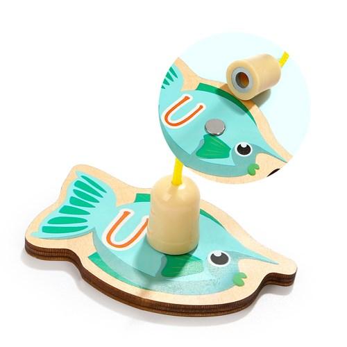 《好評熱銷 安全無毒媽咪好安心》【Top Bright】 快樂海洋釣魚組26pcs