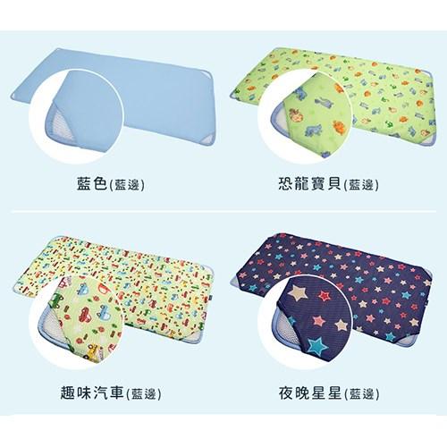 GIO Pillow 智慧二合一有機棉超透氣會呼吸的嬰兒床墊 床套可拆卸/水洗防蟎 (M號 60x120cm)