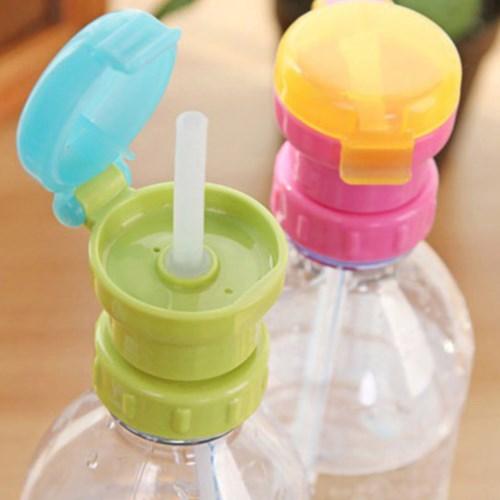 日本寶寶吸管蓋兒童便攜式瓶裝飲料防溢吸管蓋【三組入】