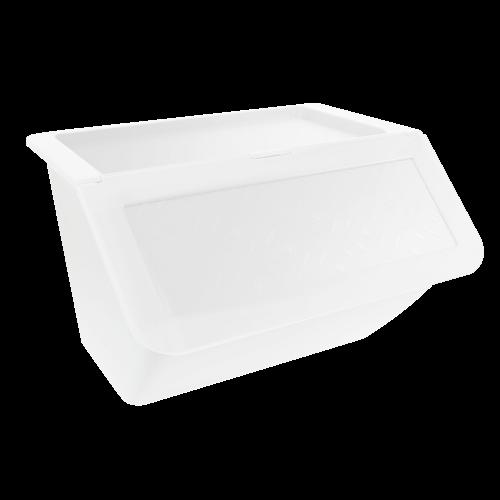 超殺破盤↘大容量33L收納櫃!折疊掀蓋式收納箱6入 免運送到家