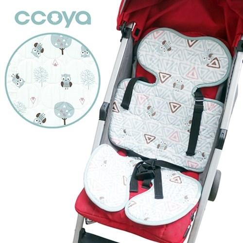 【Ccoya 】韓國製寶寶推車四季通用超透氣3D坐墊(2款任選)