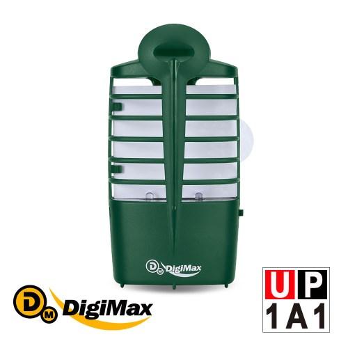 DigiMax 『電子捕蚊燈』靜音型光誘導捕蚊蠅器 UP-1A1