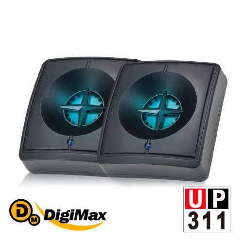 DigiMax『藍眼睛』滅菌除塵螨機-無休眠版 二入組 UP-311