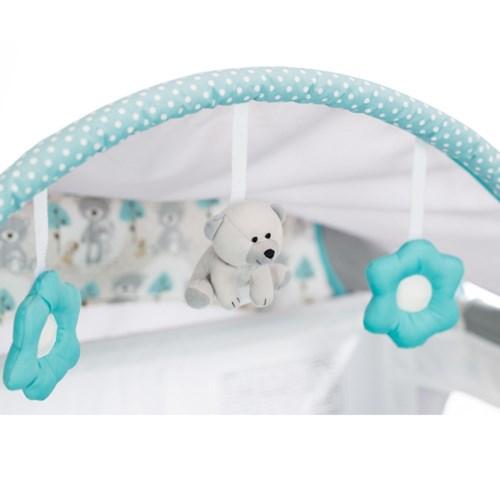 GRACO-舒適嬰幼兒電動安撫遊戲床Classic Electra(森林小熊)