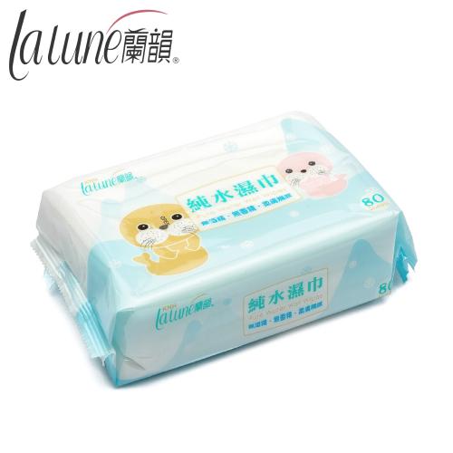 【蘭韻】純水濕巾80抽無蓋
