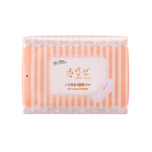 康乃馨香黛兒衛生棉日用型28公分(3包/組)