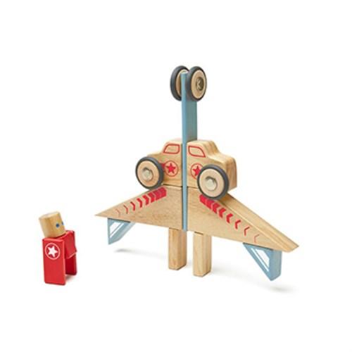 TEGU磁性積木- 特技小組25件組 - 飛躍號(JUMPER)
