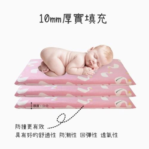 荷蘭Muslintree嬰兒床加厚防撞床圍寶寶防摔床墊
