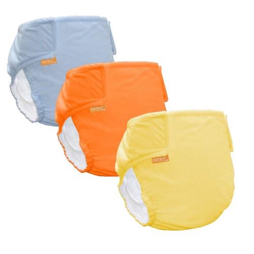 〔可透舒〕DB500布尿布體驗組(2褲+5白金尿墊)