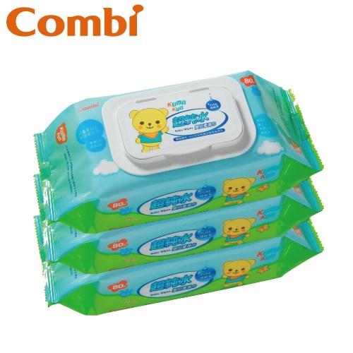 三階段訓練便器 贈Kuma Kun超純水嬰兒柔濕巾80抽促銷組