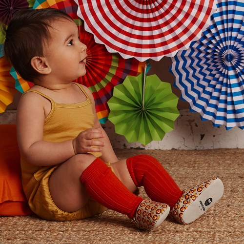 英國 POCONIDO 手工嬰兒鞋 (快樂小獅)【2019新款】