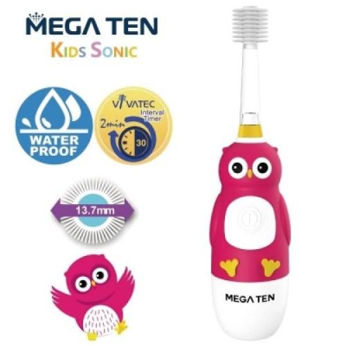 日本狂銷【Mega Ten】360度兒童聲波電動牙刷(多款任選)