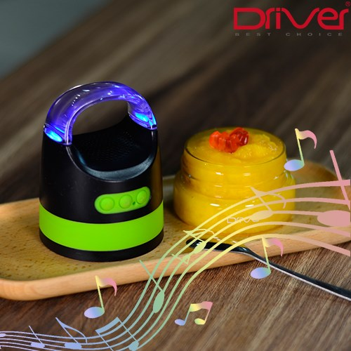 Driver 防水藍芽喇叭 食物 儲存盒