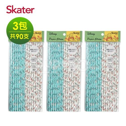 Skater環保紙吸管(6mm)-小美人魚*3
