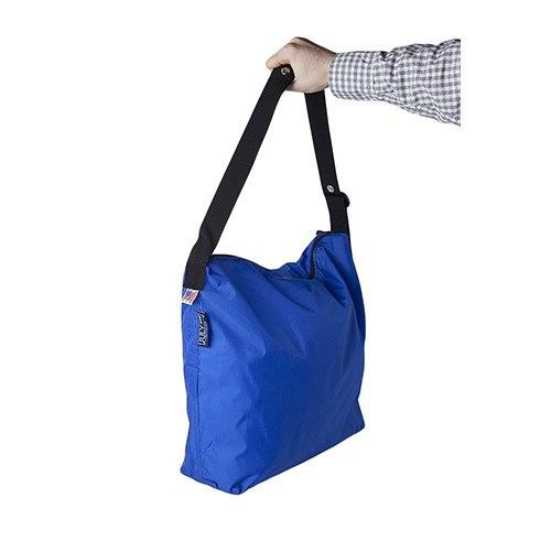 美國July Nine 壽司包 收納式拉鍊托特包 - 肩背斜背兩用  寶藍