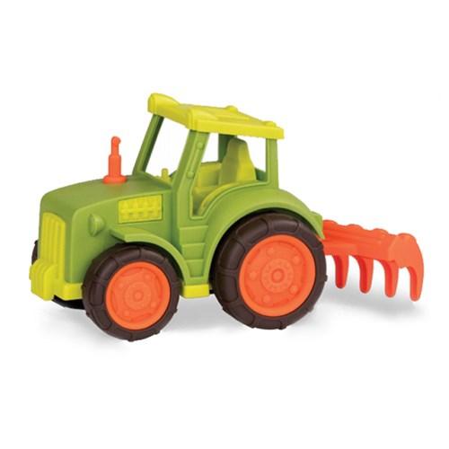 【美國B.Toys】:Wonder Wheels系列-牛脾氣犁田車