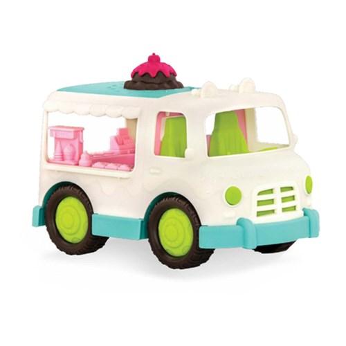 【美國B.Toys】:Wonder Wheels系列-甜奶油冰淇淋車