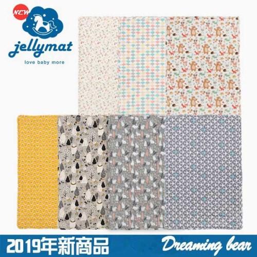 【韓國Jellymat】 2019獨家新商品 微顆粒酷涼珠有機棉果凍床墊6款