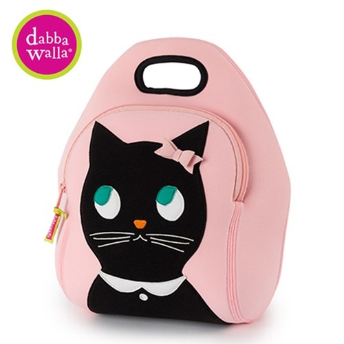 【Dabbawalla】美國瓦拉包 貓咪小姐手提包