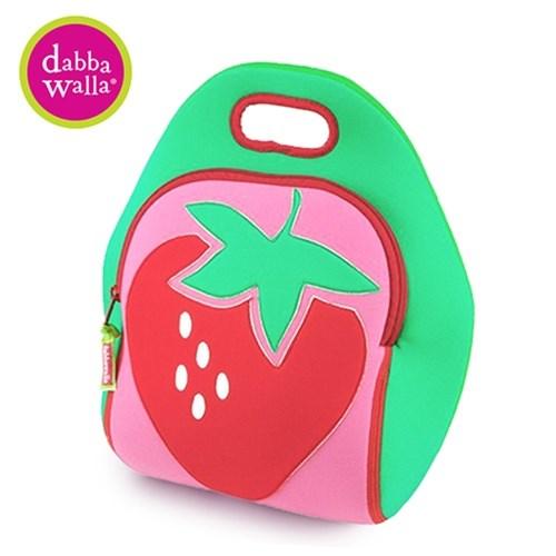 【Dabbawalla】美國瓦拉包 草莓手提包