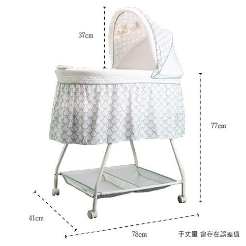 【酷貝比】新生兒純白寶寶床