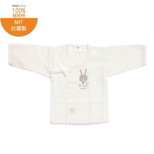 【vivibaby】動物印花精梳棉紗布衣紗布肚衣(兔子)
