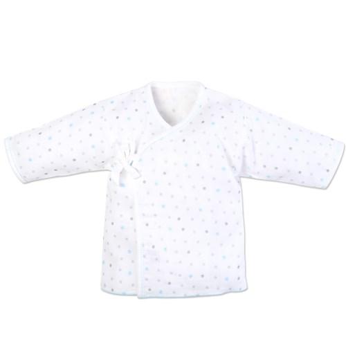 【vivibaby】星空精梳棉紗布衣紗布肚衣(藍or粉)
