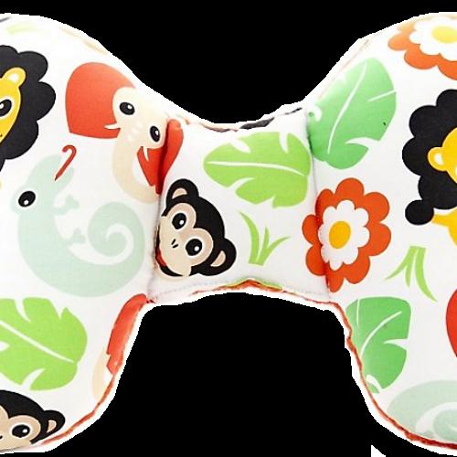 波蘭Cuddly Zoo 歡樂叢林 可愛立體莉莉蝴蝶枕