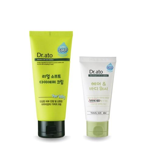 Dr.ato 全效舒緩護膚膏(易敏問題肌膚、屁屁膏)[贈]洗沐2合1雙效潔淨露