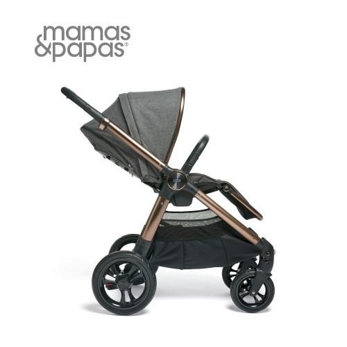 【Mamas Papas】Ocarro 雙向手推車-鎏金灰