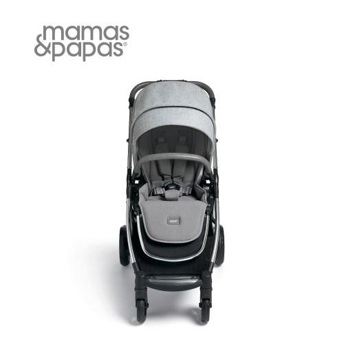 【Mamas Papas】穿山甲雙向手推車XT3-天際灰