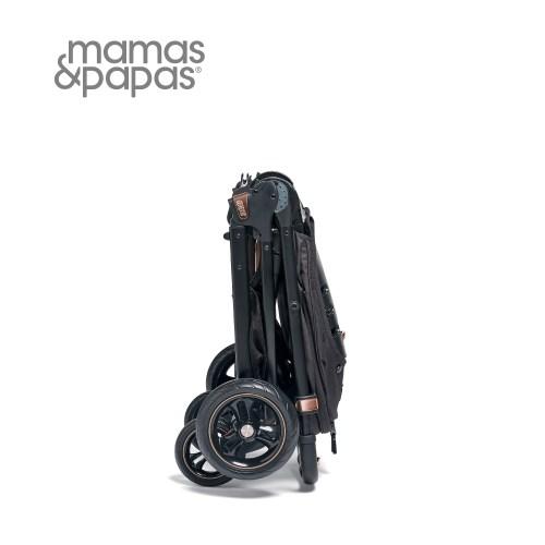 【Mamas Papas】穿山甲雙向手推車XT3-古銅黑