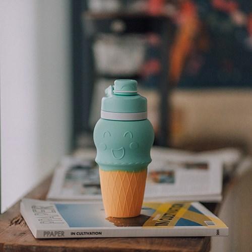 仁舟-甜筒矽水杯(贈-矽吸管) ✔︎小孩自然而然補充水份的祕密武器 ✔︎通過SGS食品級檢測 ✔︎可高溫消毒