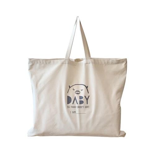 韓國Daby拉鍊帆布袋