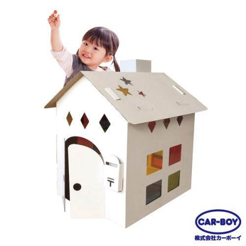 【日本CAR-BOY】彩窗自由彩繪小屋
