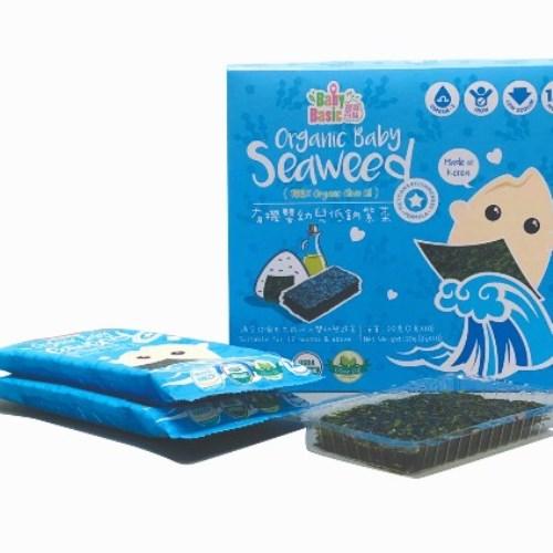 寶寶百味 有機嬰幼兒低鈉海苔 (Organic Baby Seaweed) 2g x 10