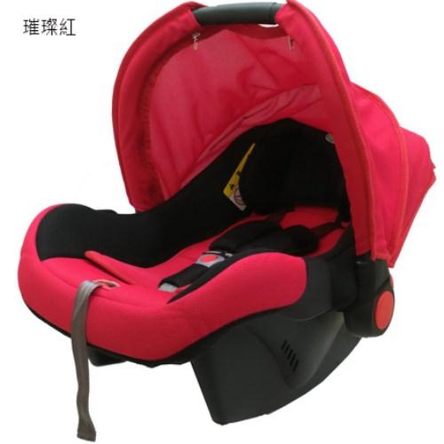 SUPER NANNY嬰兒提籃式汽車安全座椅-璀璨紅 DS-700