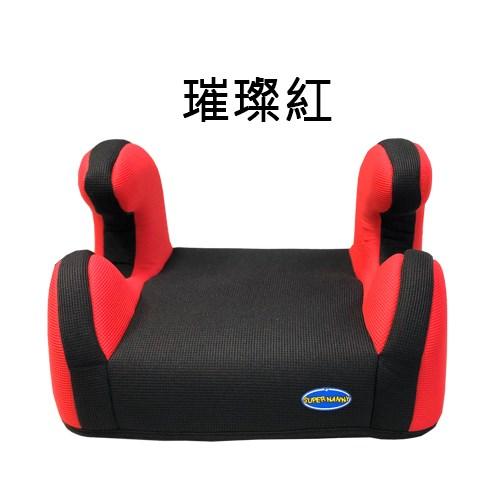 SUPER NANNY兒童汽車增高墊-璀璨紅 DS-500