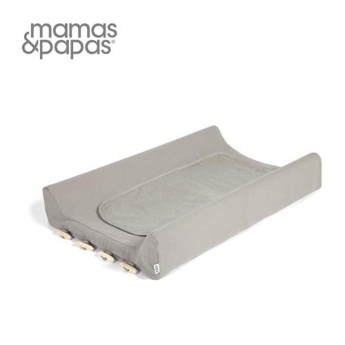 【MamasPapas】微笑峽灣-灰(尿布墊)