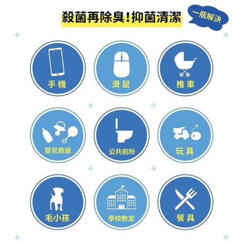 《防疫必備品》液滅菌 高效 防護 次氯酸 滅菌液 滅菌 (補充瓶) 500ML 《預購3月5日依訂單順序出貨》