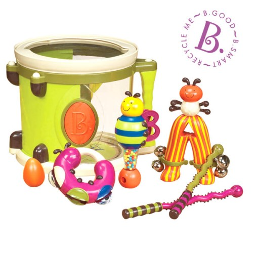 【B.Toys】砰砰砰打擊樂團