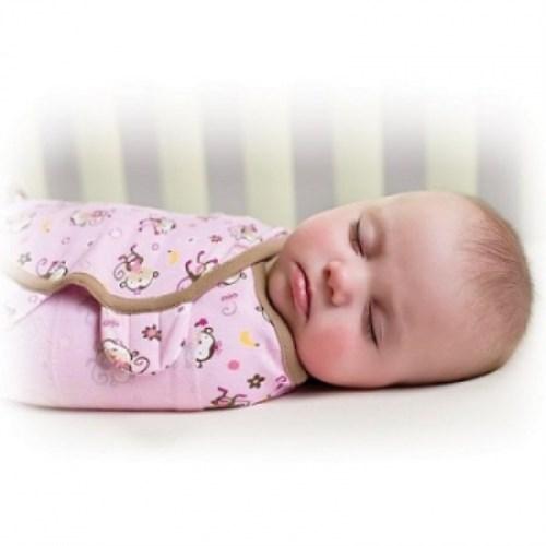 公司貨 美國Summer Infant 聰明懶人育兒包巾-親親小猴